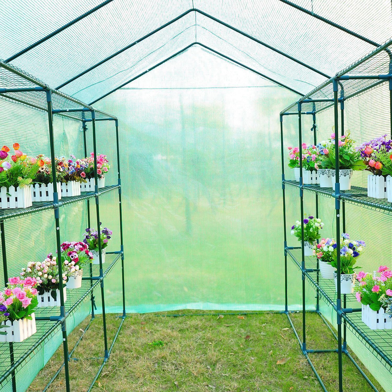 Pin On Construir Un Invernadero Backyard walk in greenhouse