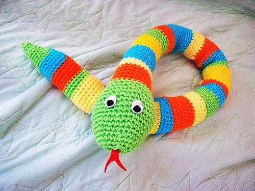 Amigurumi Snake – Bratington Bears Crochet   375x500