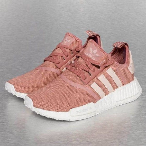 30b751a46 ... official store adidas nmd r1 runner womens salmon s76006 liked on  polyvore featuring shoes adidas footwear