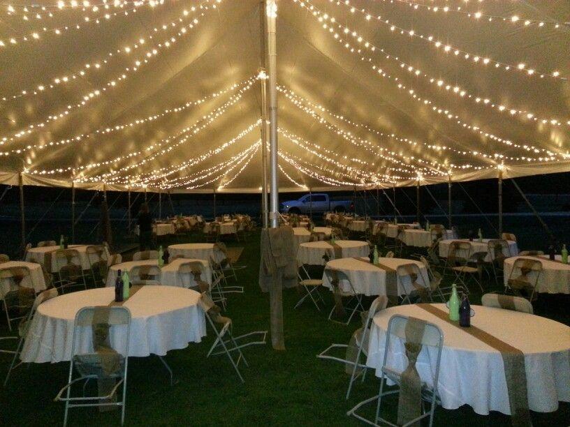 Wedding Pole Tent Led Light Strings