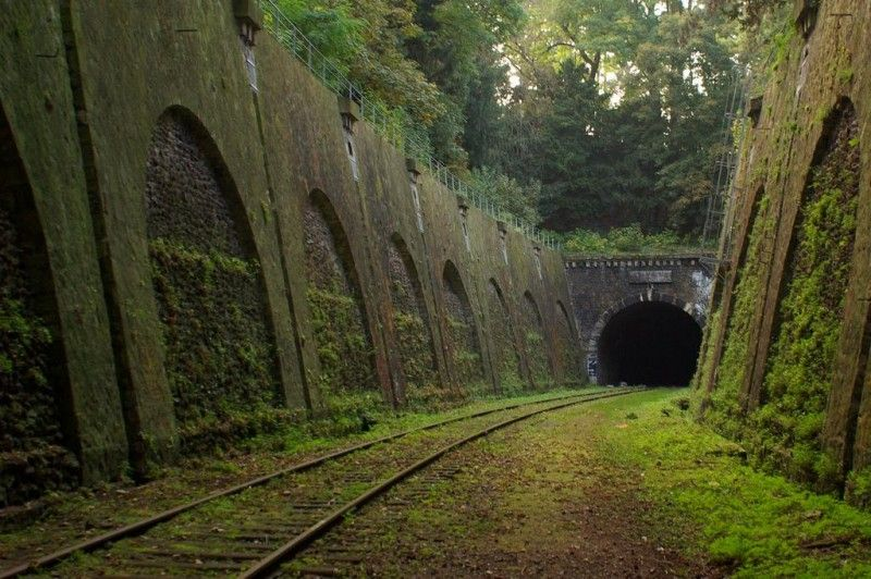 Foreboding Yet Beautiful Abandoned Railway Tunnel