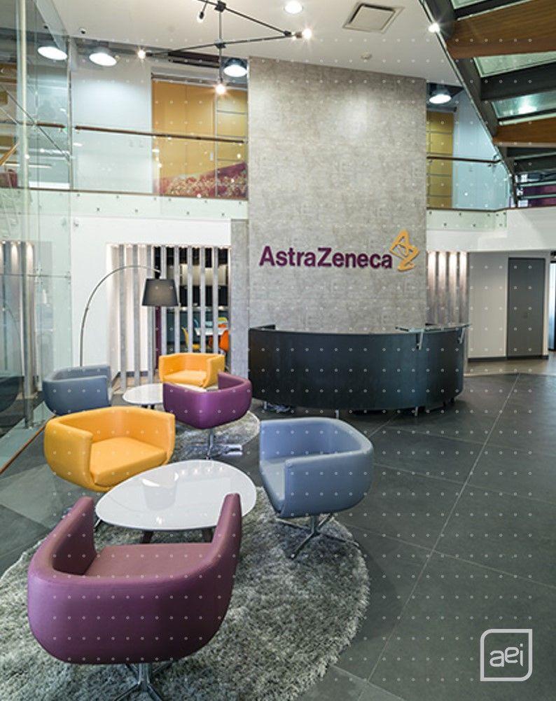 AEI diseñó y construyó las oficinas del laboratario farmacéutico Astrazeneca en Bogotá.