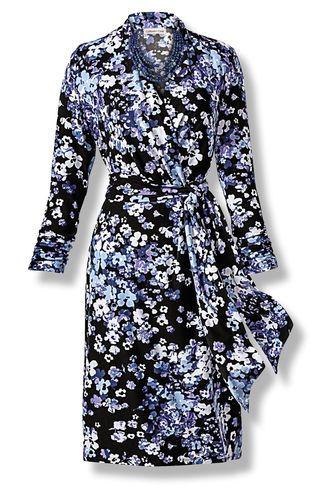 Bonnie Blue Wrap Dress, Blue