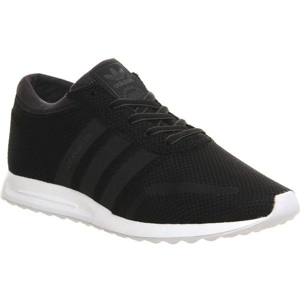 Fondos traición Confusión  ADIDAS Los Angeles mesh trainers   Adidas los angeles, Striped shoes, Black  and white sneakers