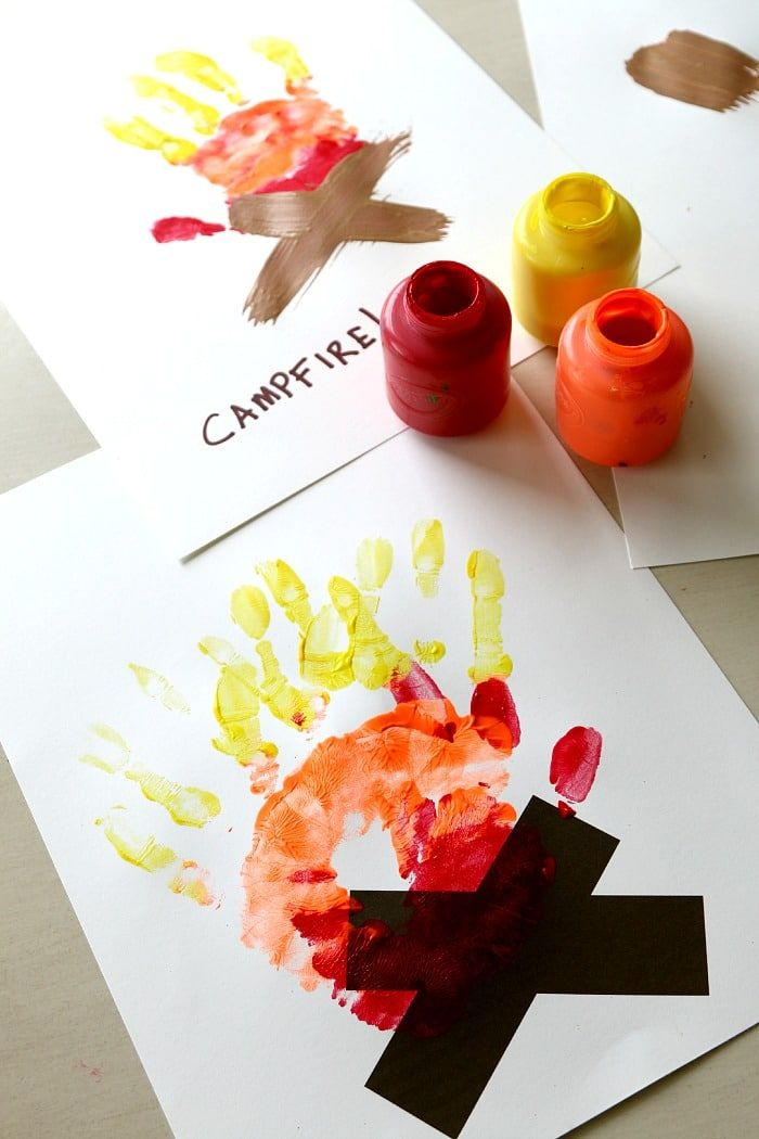 Halloween Hand Print Crafts for Kid Activity Art is part of Kids Crafts Halloween Hand Prints - 10+ Halloween Hand print crafts perfect for toddlers, Handprint crafts are so much fun, Using a child's hand print or foot print makes a wonderful card