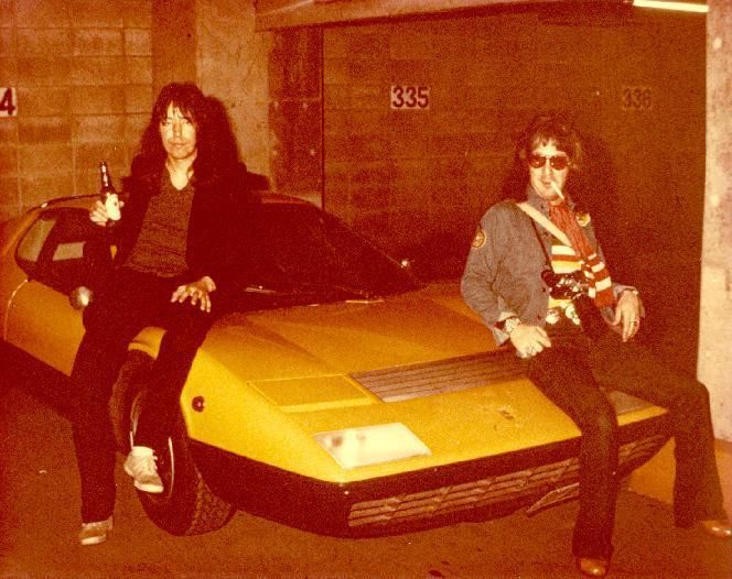 Ace Frehley Left Peter Criss W O Makeup Mid 70 S Ace