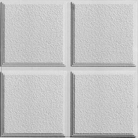 Armstrong 12 Pack Cascade Homestyle Ceiling Tile Panels Common 24 In X