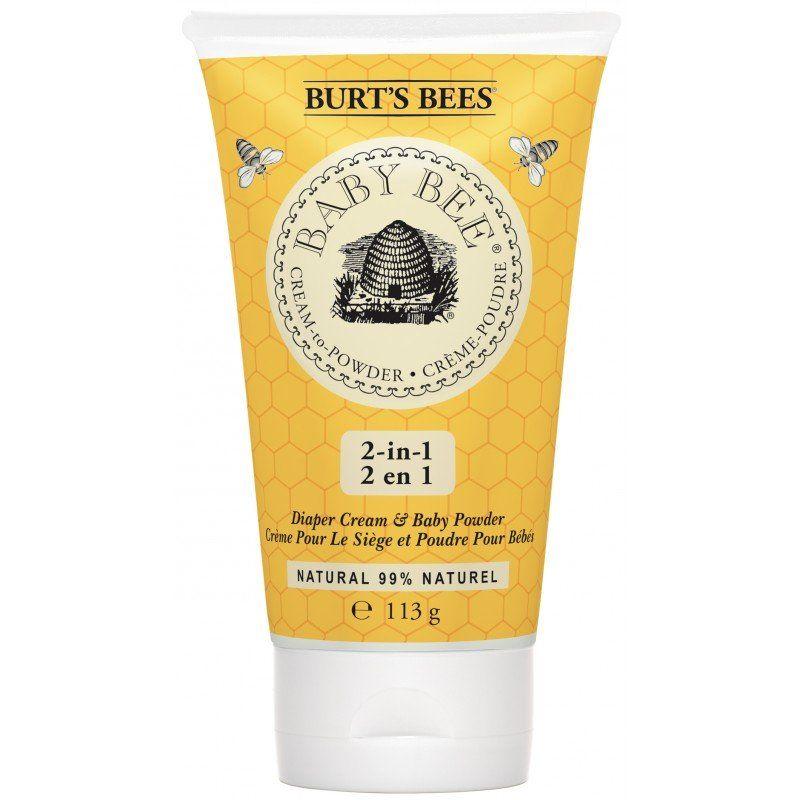 Burt's Bees - Baby Bee Cream to Powder - Diaper Cream and Baby Powder