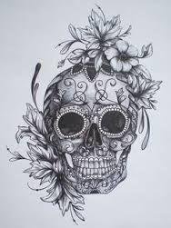 Resultat De Recherche D Images Pour Tete Mort Mexicaine Quilling