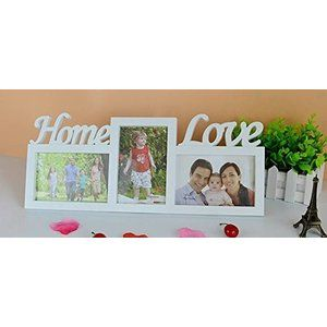 【MC2】 フォトスタンド フォトフレーム 壁掛けも可能 L判 対応 列車 Home Love 3連 インテリア (HomeLove)