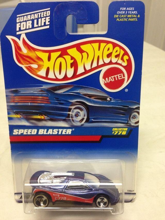 HOT WHEELS 1998 - SPEED BLASTER - BLISTER USA | eBay | Hot wheels ...