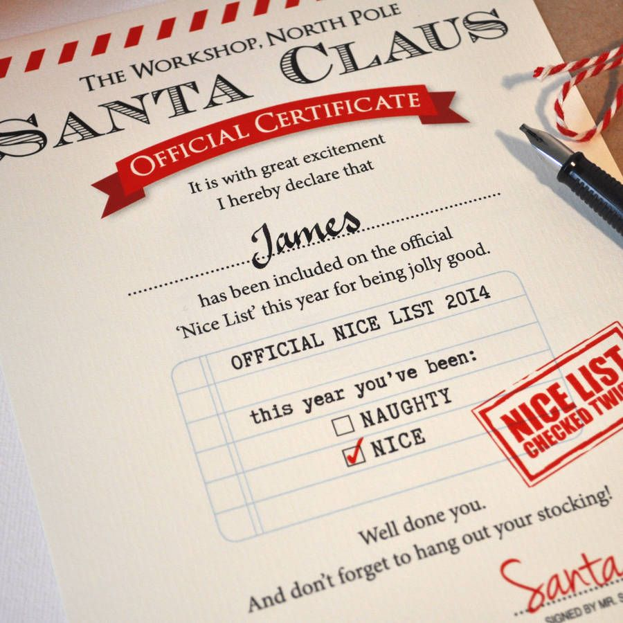 nice list certificate free printable Google Search