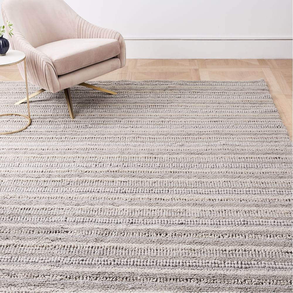 Stitched Mix Sweater Rug Platinum Mixed Sweater Solid Color Rug Jute Rug