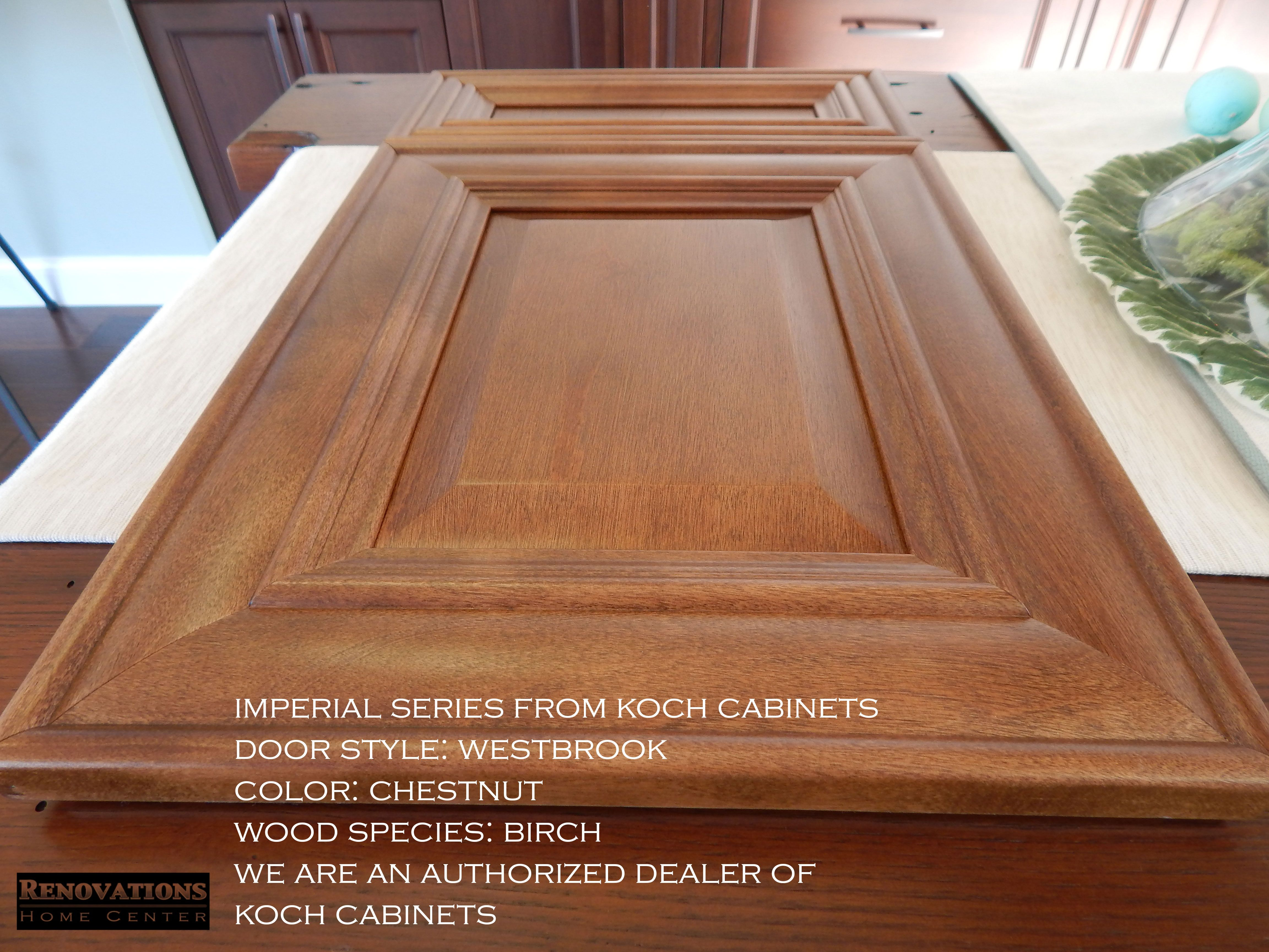 Imperial Series From Koch Cabinets Door Style Westbrook Color Chestnut Wood Species Bi Kitchen And Bath Remodeling Home Remodeling Cabinet Door Styles