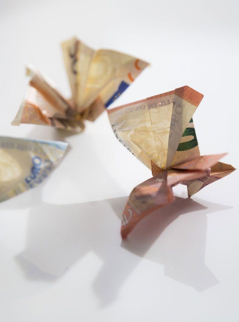 Geldgeschenke Schmetterlinge Zur Hochzeit Fur Russische Hochzeiten