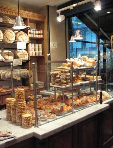 Patisserie Bakery Shop Bread Display Bread Shop