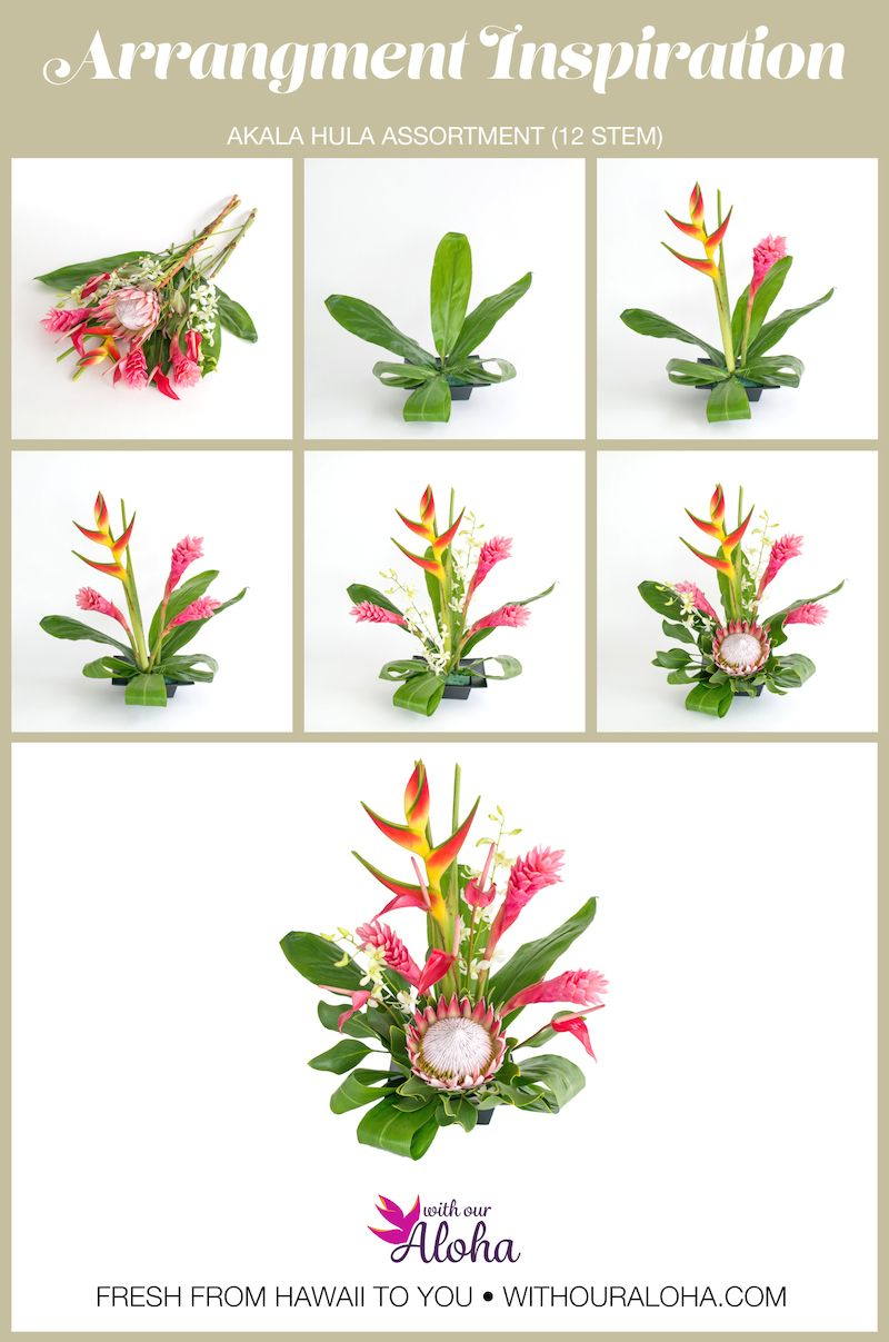 Akala Hula means 'pink dance' and these Hawaiian flowers