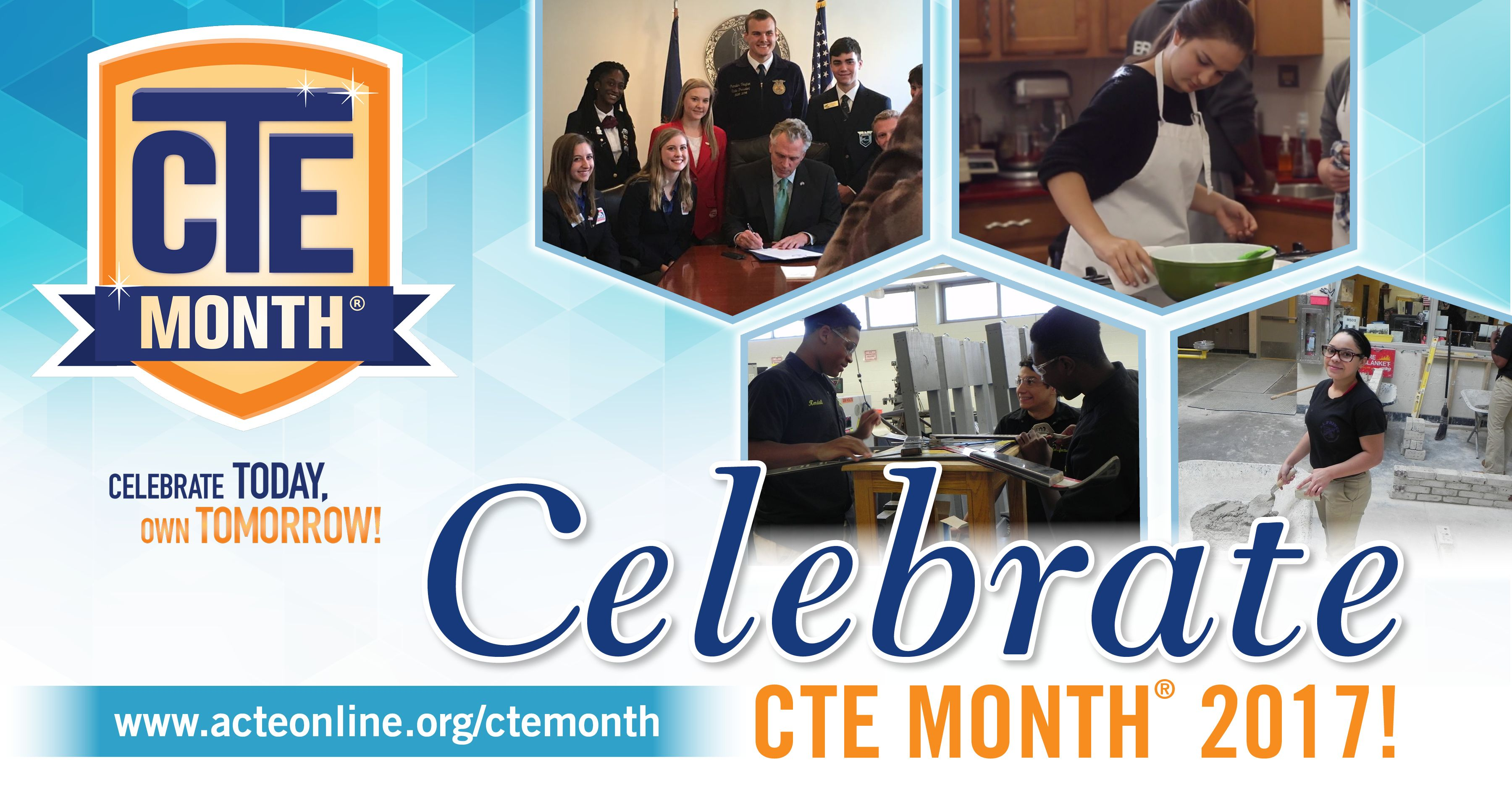 Cte Month Thunderclap Image Banner Career Counseling Career Planning Education