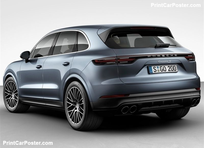 Porsche Cayenne 2018 poster | Cars, 4x4 and Vehicle