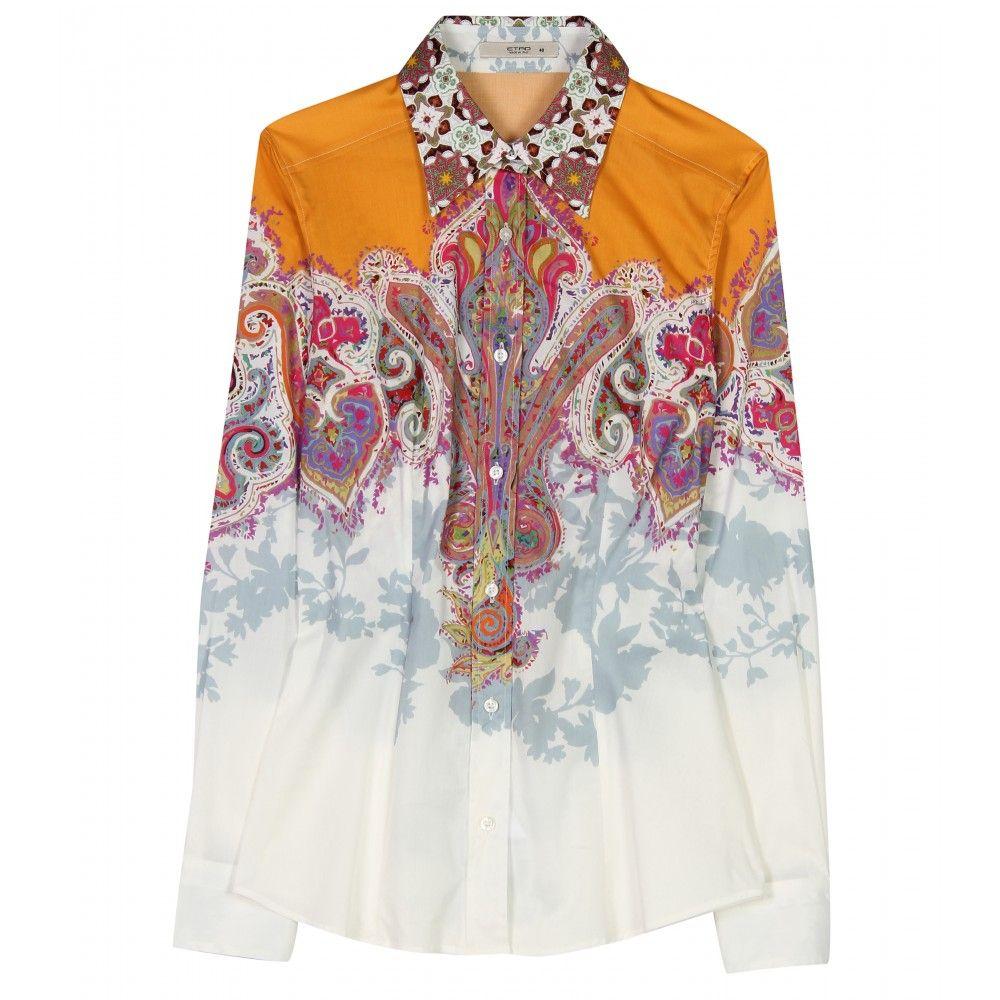 e88ddafc77b847 Printed Silk Blouse Shopstyle