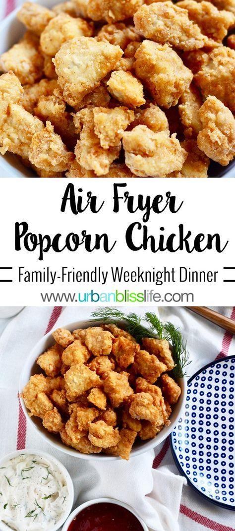 Air Fryer Popcorn Chicken Recipe Air frier recipes