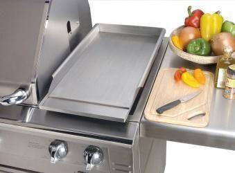 Alfresco Grills Griddle For Side Burner Outdoor Kitchen Built In Grill Outdoor Kitchen Design