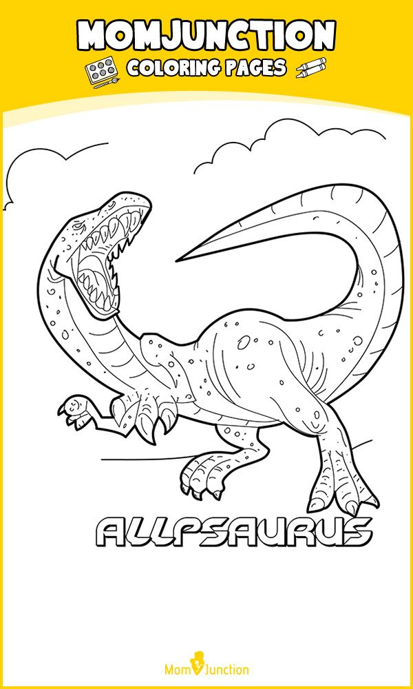 top 25 free printable unique dinosaur coloring pages online