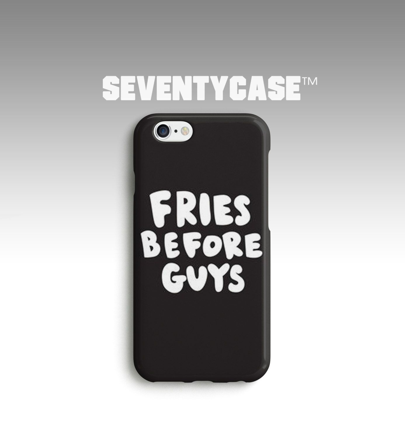 Fries Over Guys Funny Friendship Quote Birthday Full Wrap ...