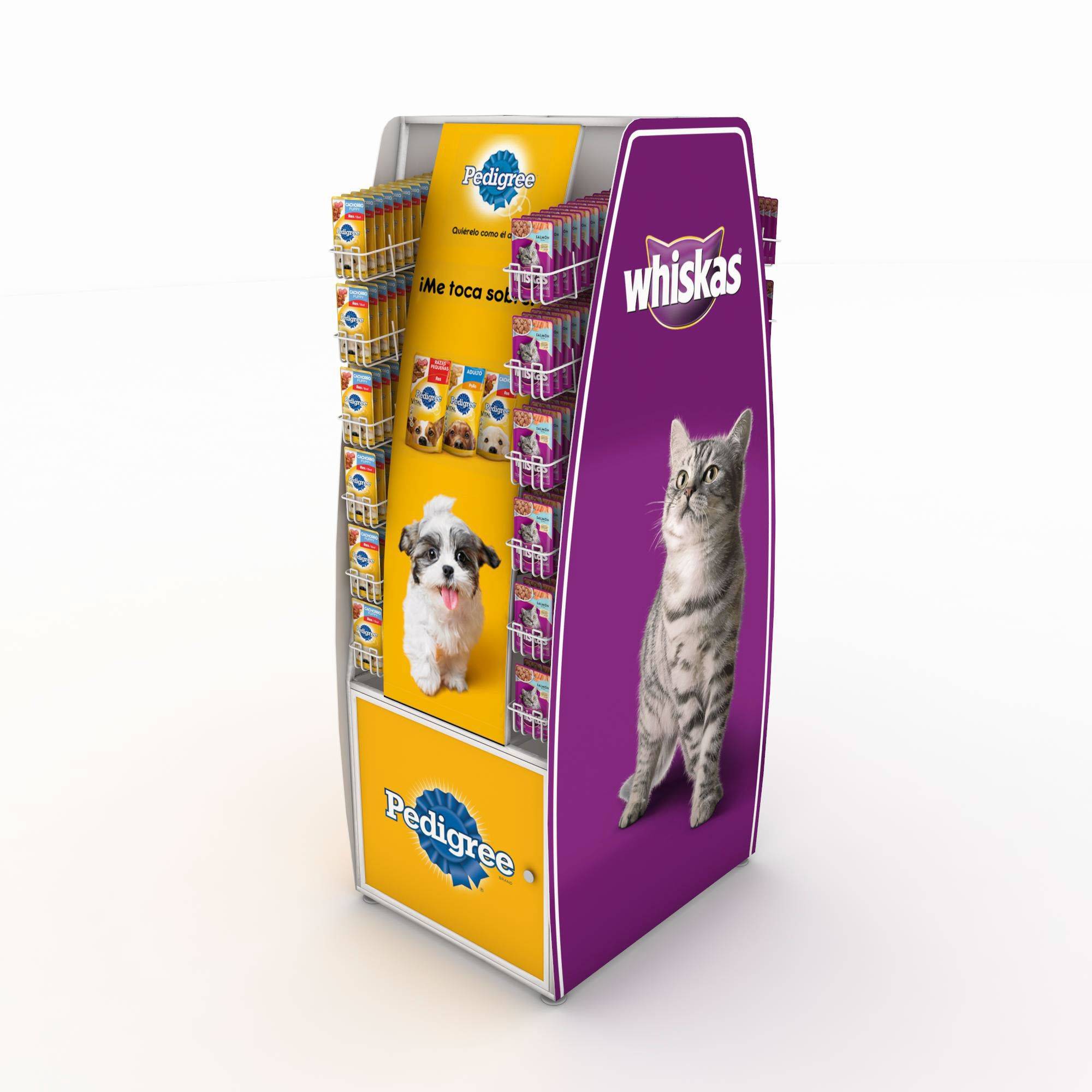 Check out this behance project floorstand pedigree