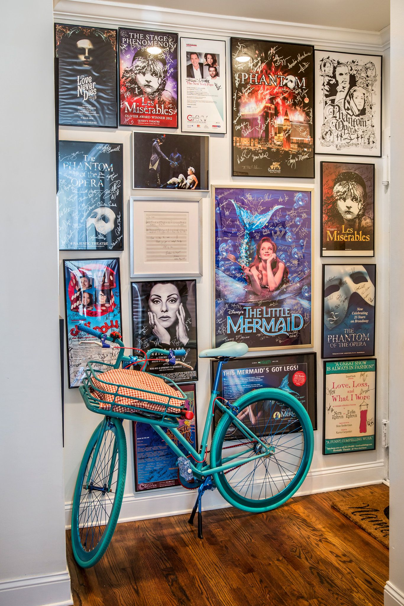 Bedroom wall with posters - Sierra S Ego Wall The Actress A Star Of Broadway S School Of Rock