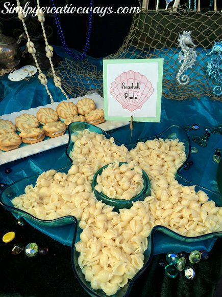 Under The Sea Party Food Menu  First Birthday Party Ideas