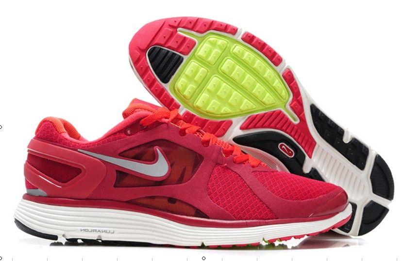 online retailer 2c8c7 bf092 Mens Nike LunarEclipse 2 Red Black Silver Shoes