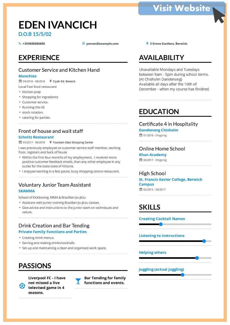 Pin On Customer Service Skills Resume Examples