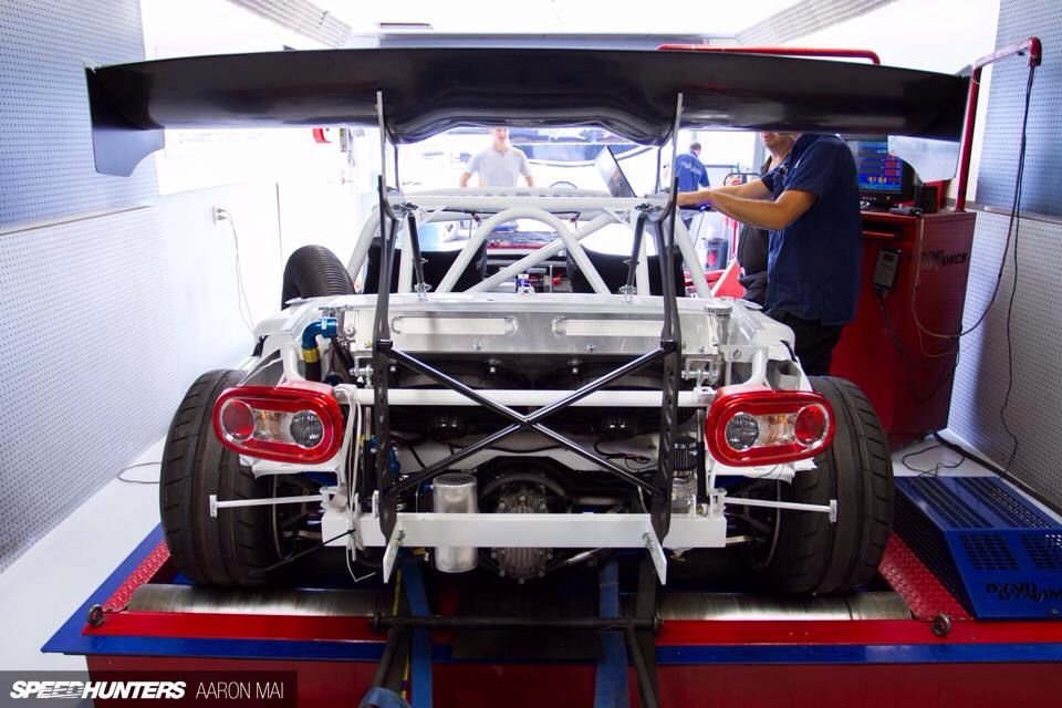Mad Mike's brand new Mazda 26B rotary twin turbo MX5 Miata