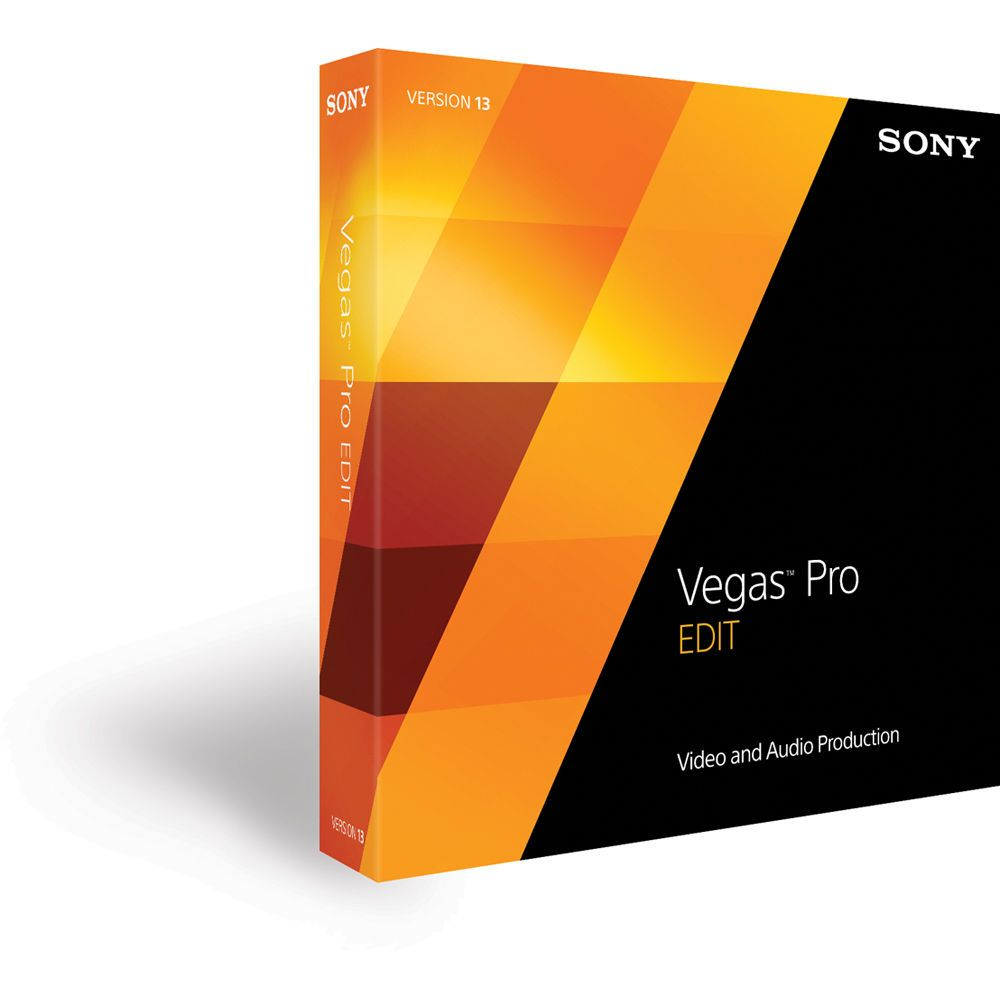 Sony Vegas Pro 13 Edit (Academic Edition, Boxed)