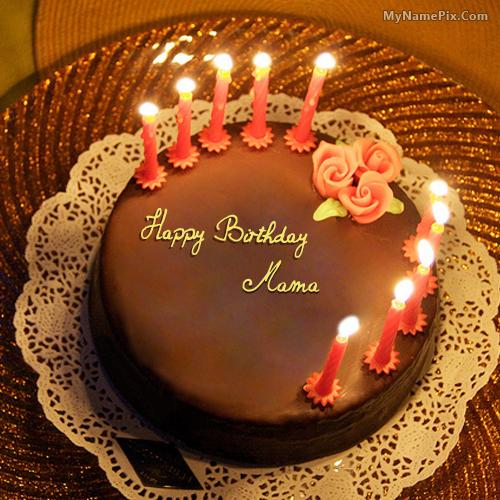 Rika Blog Happy Birthday Mama Ji Cake Download