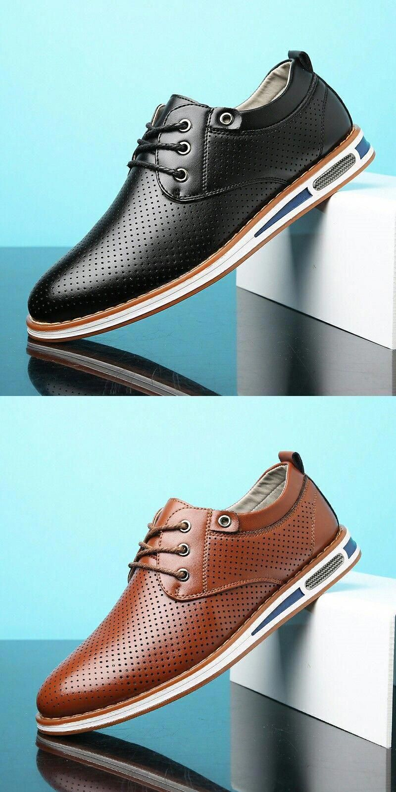 607b000909c1a US  26.2  Click to buy  Brand Men Shoes Casual   Smart Leather Fashion  Trendy