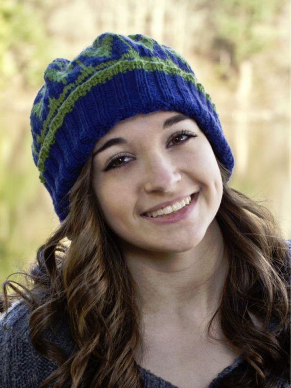 Cascade 11+1 Hat | Kinitt | Knitting patterns, Free knitting