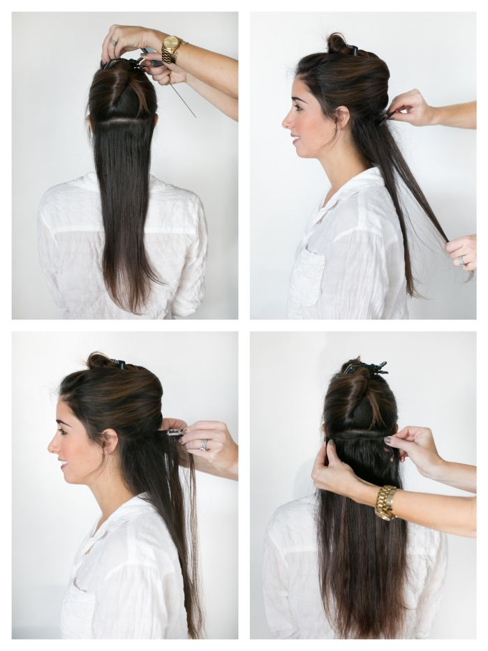 Clip In Hair Extensions Before And After And How To Do Your Own Hair
