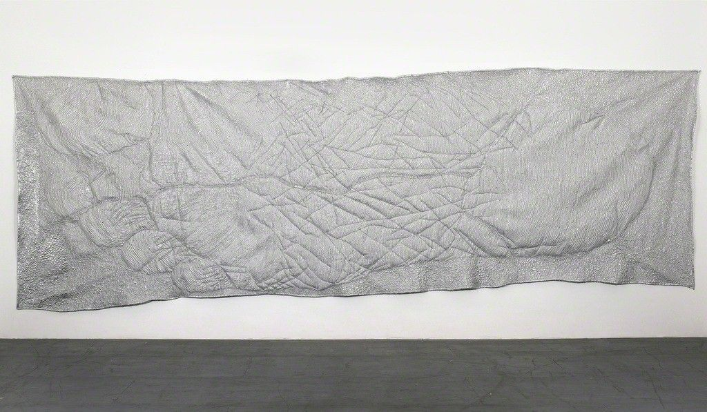 Tim Hawkinson . foot quilt, 2007