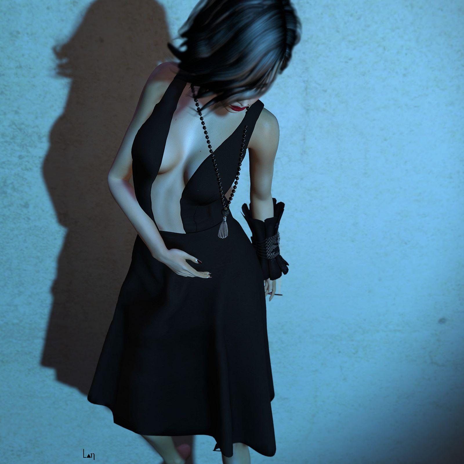 https://flic.kr/p/BR54Xa | · | Mina: Stella Hair @Très Chic [sYs]: La Petite Robe Noire @Très Chic [sYs]: Corelia Bracelet @Très Chic Amitie: Lazy 01 Pose @Très Chic Minimal: Andrea Necklace