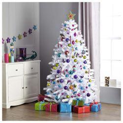 Buy Festive 6ft White Iris Princess Pine Christmas Tree from our ...