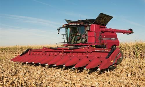 Corn Heads Combine Harvester Equipment Case Ih Case Ih Case Tractors Combine Harvester