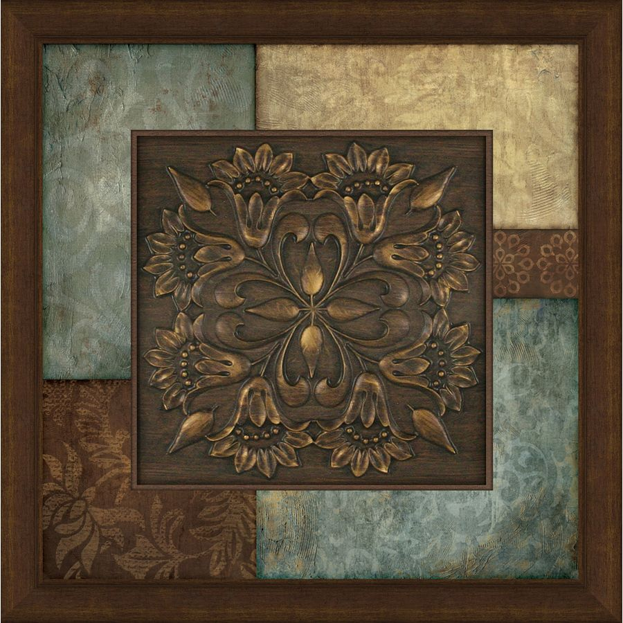Brown Metal Wall Decor 27In W X 27In H Abstract Prints Wall Art  Home  Pinterest