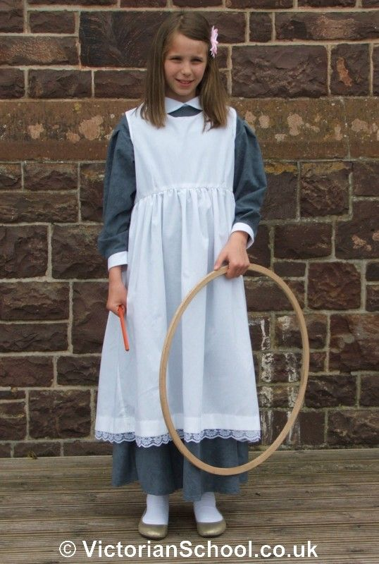 Victorian Pinafore Authentic Victo...