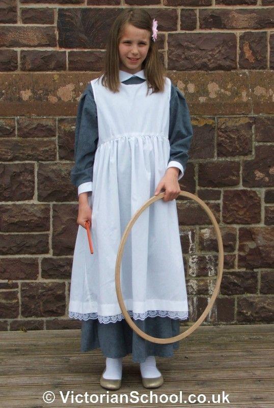 Authentic Victorian Style Schoolgirl Smock-------An -7610