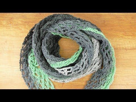 Photo of XXL Häkeltuch | Schnell und einfach Machen Sie Ihr eigenes Netz | Lernen Sie, Wolle mit Farbverlauf zu häkeln