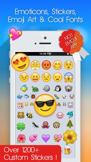 Top Free Iphone App 224 Emoji 2 Emoticons For Ios 7 New Free