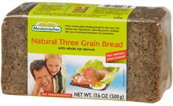 Natural Three Grain Bread