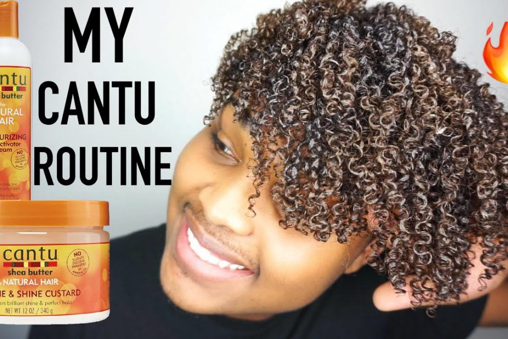 The Ultimate Cantu Curly Hair Routine With Images Cantu Curly